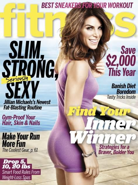Fitness Magazine Jillian Michaels Cover 2013 -- Fitness Magazine