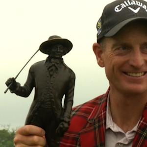 Jim Furyk's interview after the Final Round of RBC Heritage