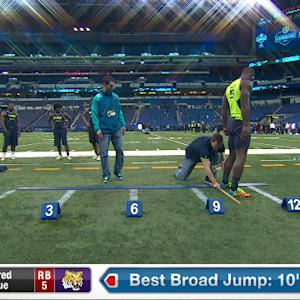 2014 Combine workout: Alfred Blue