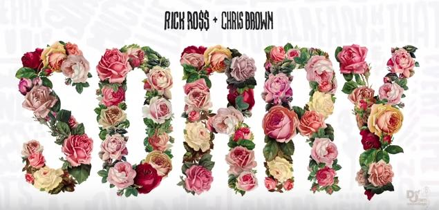 """Rick Ross Grabs Chris Brown for """"Sorry"""""""