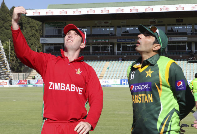 Zimbabwe Pakistan Cricket Toss
