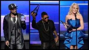 American Music Awards 2012: 15 Things You Didn't See on TV