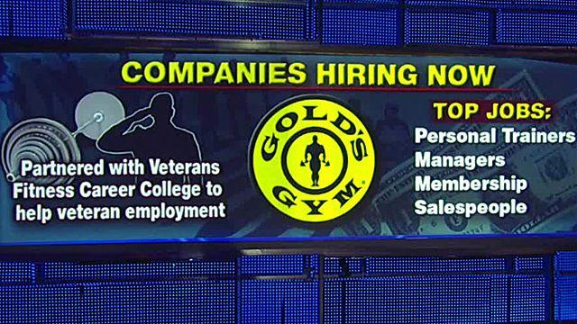 Gold's Gym hiring hundreds of trainers