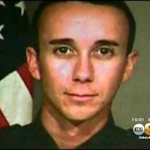 Vigil Held For San Bernardino Officer Gravely Injured In Shooting