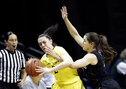 No. 4 Stanford women easily down Oregon 86-62