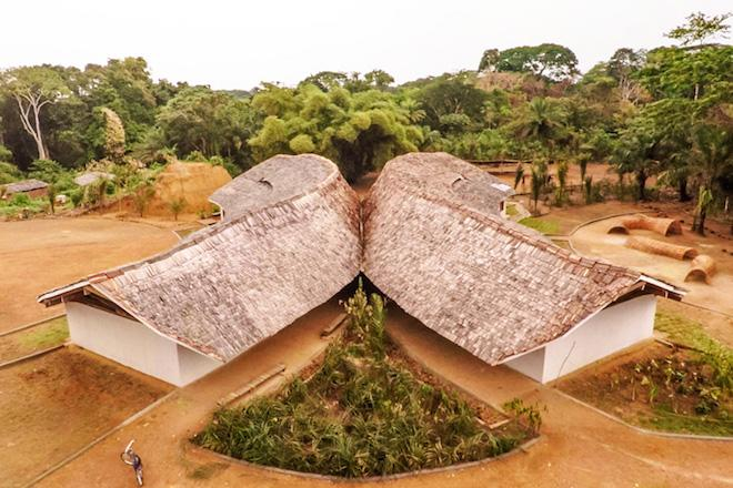 Lo-Fab: Congo School Construction a Learning Process with Locally Sourced Materials