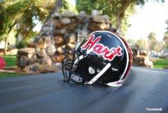 Santa Clarita Hart football helmet