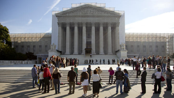 Justices open big term with new human rights case
