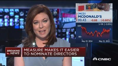 McDonald's CEO: 'Ronald is here to stay'