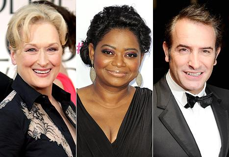 Oscars 2012: Nominees Meryl Streep, Octavia Spencer and More React