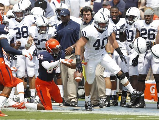 Penn State loses heartbreaker, 17-16 at Virginia