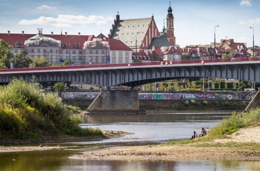 <p>A picture shows the Vistula (Wisla) river in the center of Warsaw on September 9. With exorcism booming in Poland, Roman Catholic priests have joined forces with a publisher to launch what they claim is the world's first monthly magazine focused exclusively on chasing out the devil.</p>