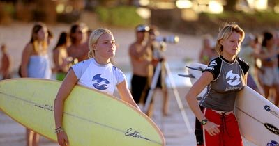Kate Bosworth and Keala Kennelly in Universal's Blue Crush