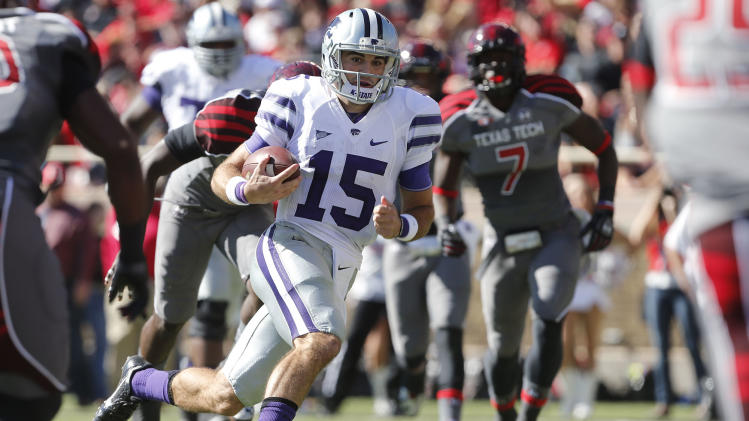 Kansas St beats No. 25 Texas Tech 49-26