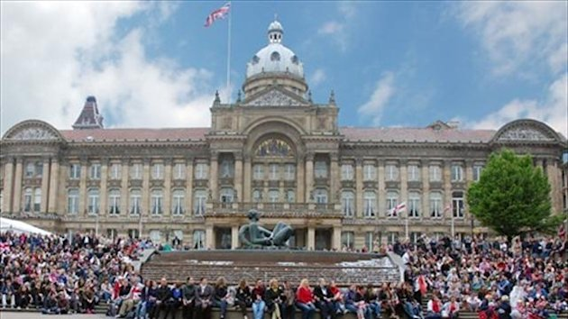 Victoria Square in Birmingham - Image courtesy of London2012.com