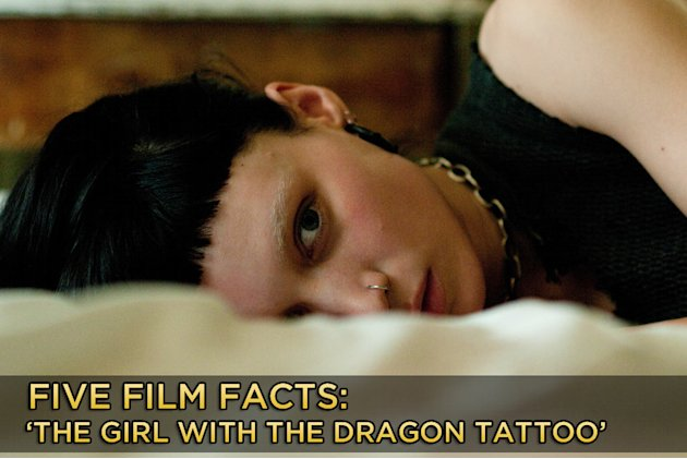 Five Facts Dragon Tattoo Title Card