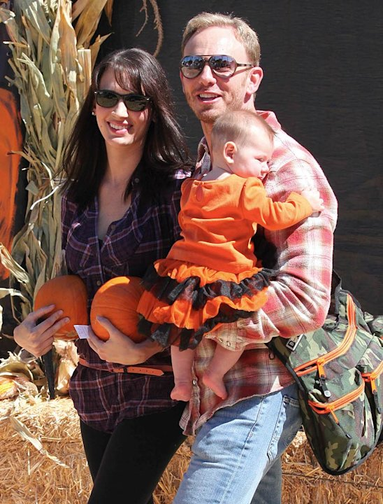 Ian Ziering Pumpkin Patch