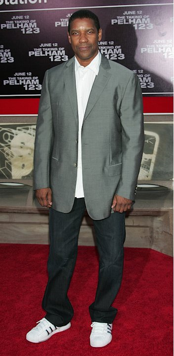 The Taking of Pelham 123 LA Premiere 2009 Denzel Washington