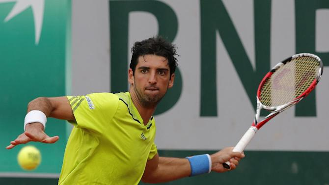 2-time champ Bellucci wins 1st match at Swiss Open