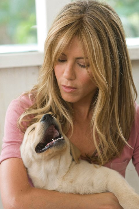 Jennifer Aniston Marley & Me Production Stills 20th Century Fox 2008