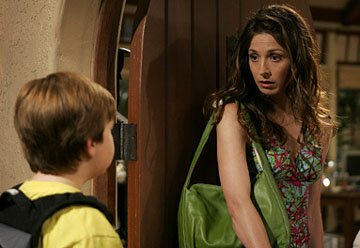 Angus T. Young and Marin Hinkle