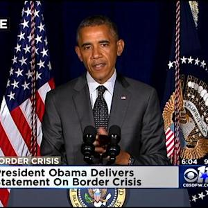 President Obama Comments After Border Meeting In Dallas