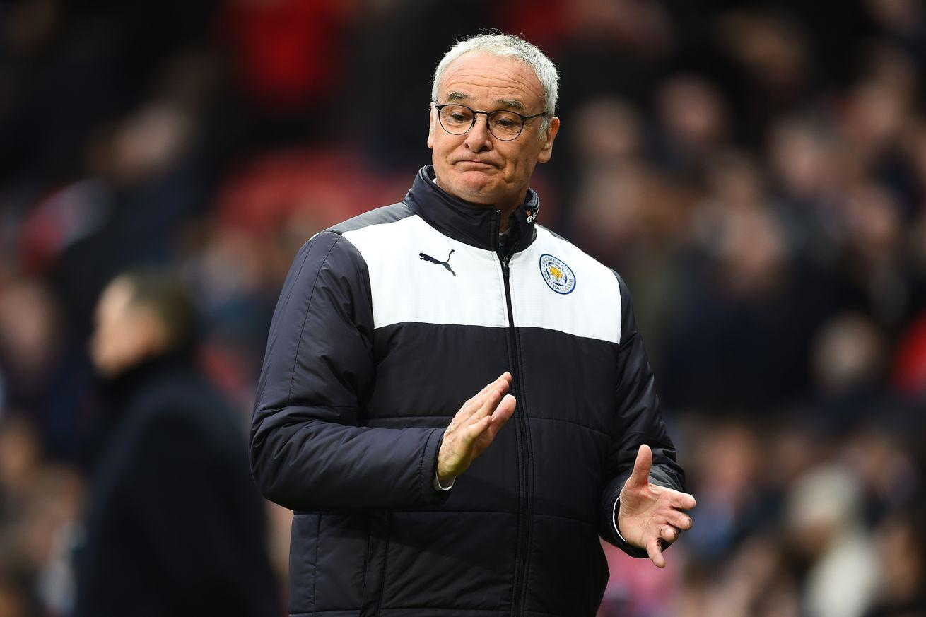 Leicester's manager flew to Italy to see his 96-year-old mother, won't watch potential title-clinching game