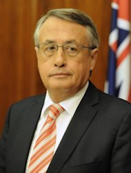 Federal treasurer Wayne Swan said on Monday Australia&#39;s final deficit figure for the year to June 30 2012 had come in below the Aus$44.4 billion forecast in May, with taxation receipts booming as a result of solid wage and employment growth