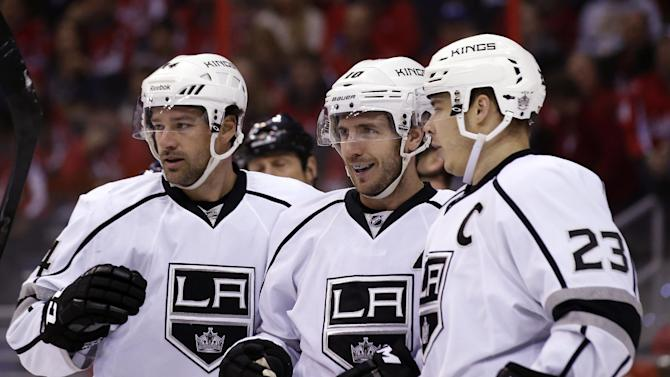 Ovechkin, Capitals blow lead in 5-4 loss to Kings