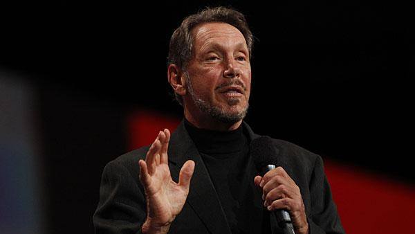 """3. Lawrence J. Ellison, 67 Company: Oracle  Net worth: $35 billion  2011 compensation: $77.6 million   As the co-founder and CEO of Oracle, Larry Ellison is also the sixth richest person in the world and the third wealthiest in the U.S., according to Forbes.   Ellison co-founded Oracle under the name Software Development Laboratories (SDL) in 1977. The company picked up a contract with the CIA in the same year to build a database program code-named """"Oracle."""" In 1980, the firm had only eight employees and turnover of less than $1 million, but after IBM adopted Oracle's mainframe systems the following year, its sales doubled every year for the next seven. Since then, Oracle has grown to over 380,000 customers and is the third-largest software company based on revenues behind IBM and Microsoft.   Ellison's stake in Oracle is estimated to be about $32.8 billion, according to Wealth-X. A sailing enthusiast, his yacht Rising Sun is one of the largest privately owned vessels in the world, worth an estimated $200 million.   In 2009, Ellison also bought the Indian Wells ATP tennis championship event, the BNP Paribas Open , for $100 million. Other notable assets include his Japanese-style home in California valued at $70 million.   Ellison has consistently topped the list of the world's highest paid CEOs in the past decade. In 2009, he was the highest paid CEO with compensation totaling $84.5 million . Despite his growing wealth, Ellison is also known for his philanthropy. In 2010 he joined the """"Giving Pledge"""" — a campaign by billionaires Warren Buffett and Bill Gates to give away at least half of his fortune to charity.  Photo: Getty Images"""