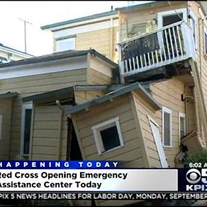 Volunteers Flood In To Help Napa Quake Victims