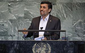 U.N. to Ahmadinejad: Watch Your Mouth