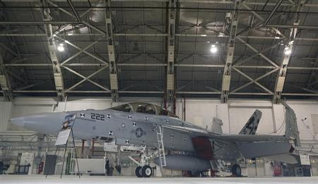Boeing may slow F/A-18 plane output to keep line going longer