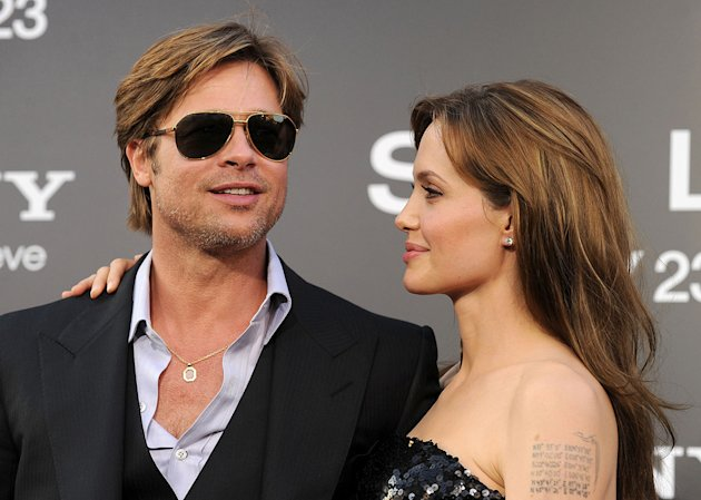 Salt LA premiere 2010 Brad Pitt angelina Jolie