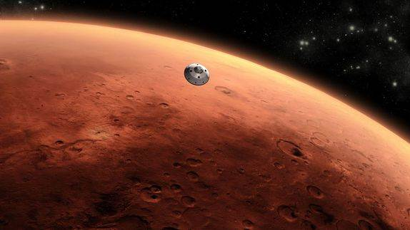 Excitement Builds for Mars Rover's Landing Sunday