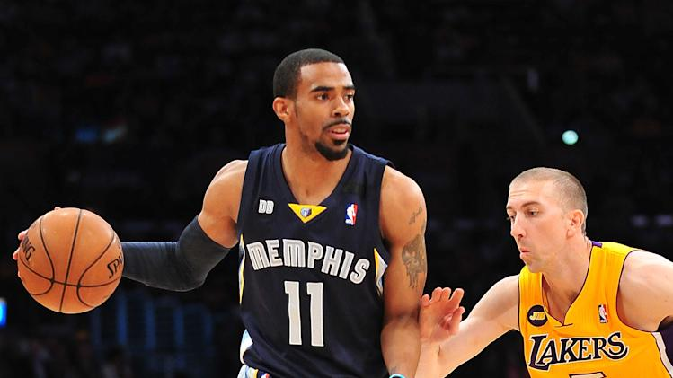 NBA: Memphis Grizzlies at Los Angeles Lakers