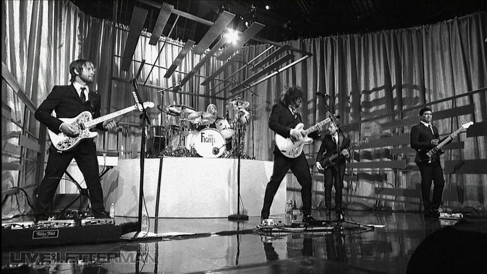 White Limo (Live on Letterman)