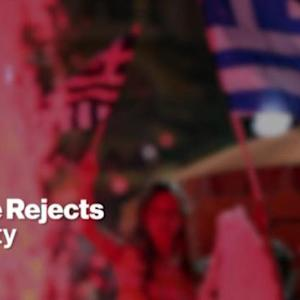 Greece Backs Tsipras's Rejection of Further Austerity