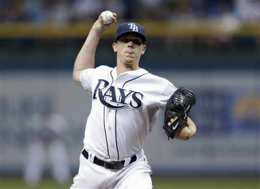 Hellickson, Rays cool off surging Blue Jays, 4-1