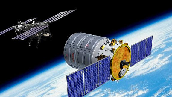 Orbital Sciences Names 1st Space Station Cargo Ship After Astronaut