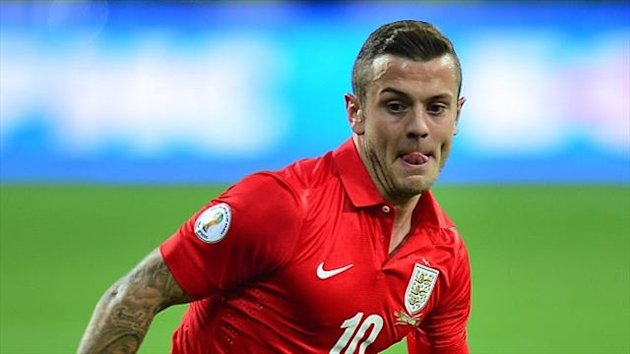 Jack Wilshere had a disappointing game in Ukraine