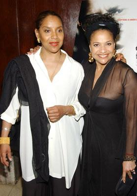 Premiere: Phylicia Rashad and Debbie Allen at the New York premiere of Paramount Pictures' The Manchurian Candidate - 7/19/2004