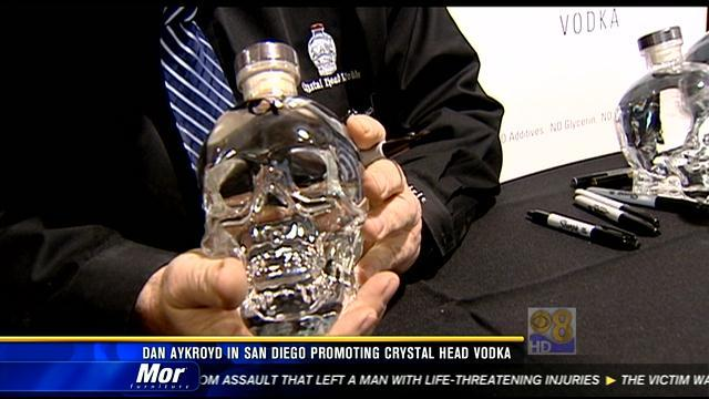 Dan Aykroyd in San Diego promoting vodka