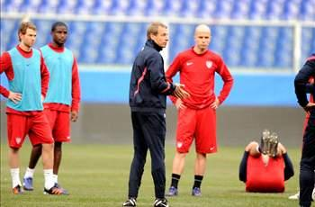"Klinsmann: Brazil game will reveal ""where we really are"""