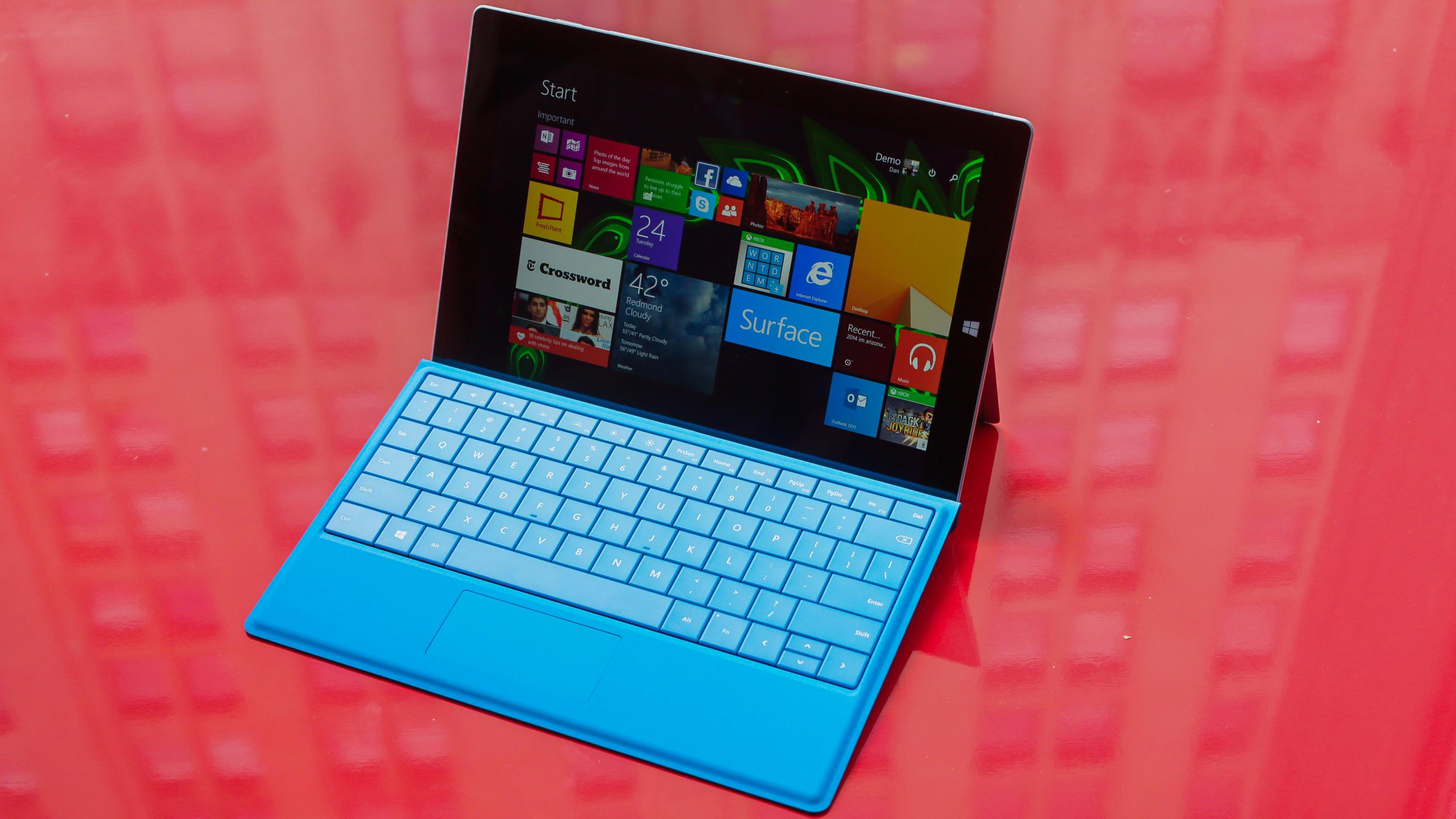 Pricing and availability for Microsoft's Surface 3 in Asia-Pacific region
