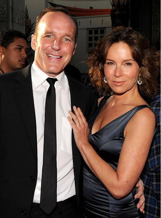 Iron Man 2 LA Premiere 2010 Clark Gregg Jennifer Grey