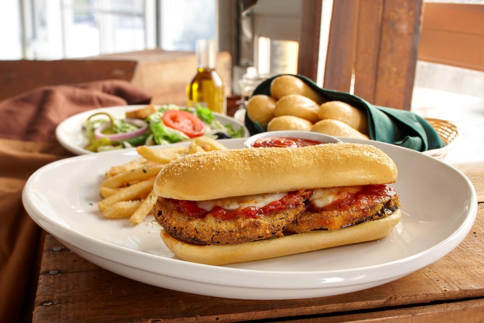 Olive Garden Debuts Spaghetti Pie, Adds New Breadstick Sandwiches to Its Lineup
