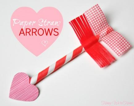 Paper Straw Arrows