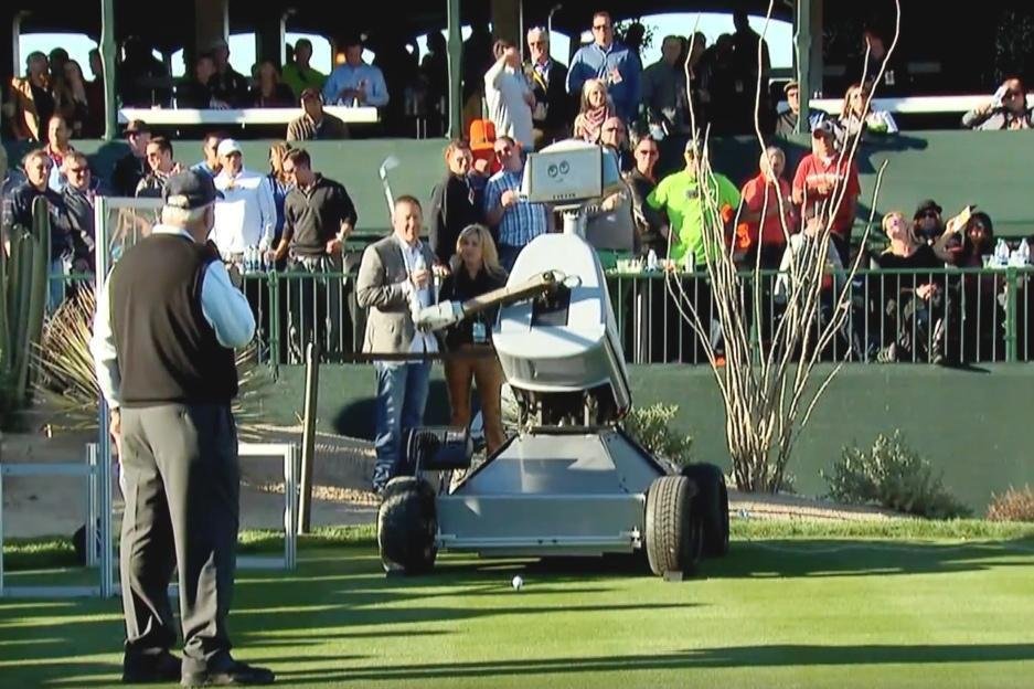 A Robot Golfer Just Nailed a Hole-in-One in Historic First