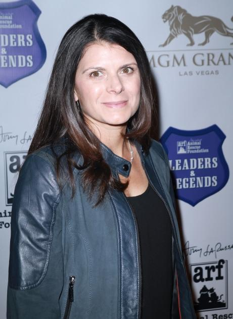Mia Hamm attends the inaugural Tony LaRussa Leaders and Legends Gala benefiting Tony La Russa's Animal Rescue Foundation at MGM Grand on November 16, 2012 in Las Vegas -- FilmMagic
